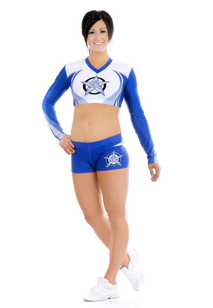 custom cheerleading uniform