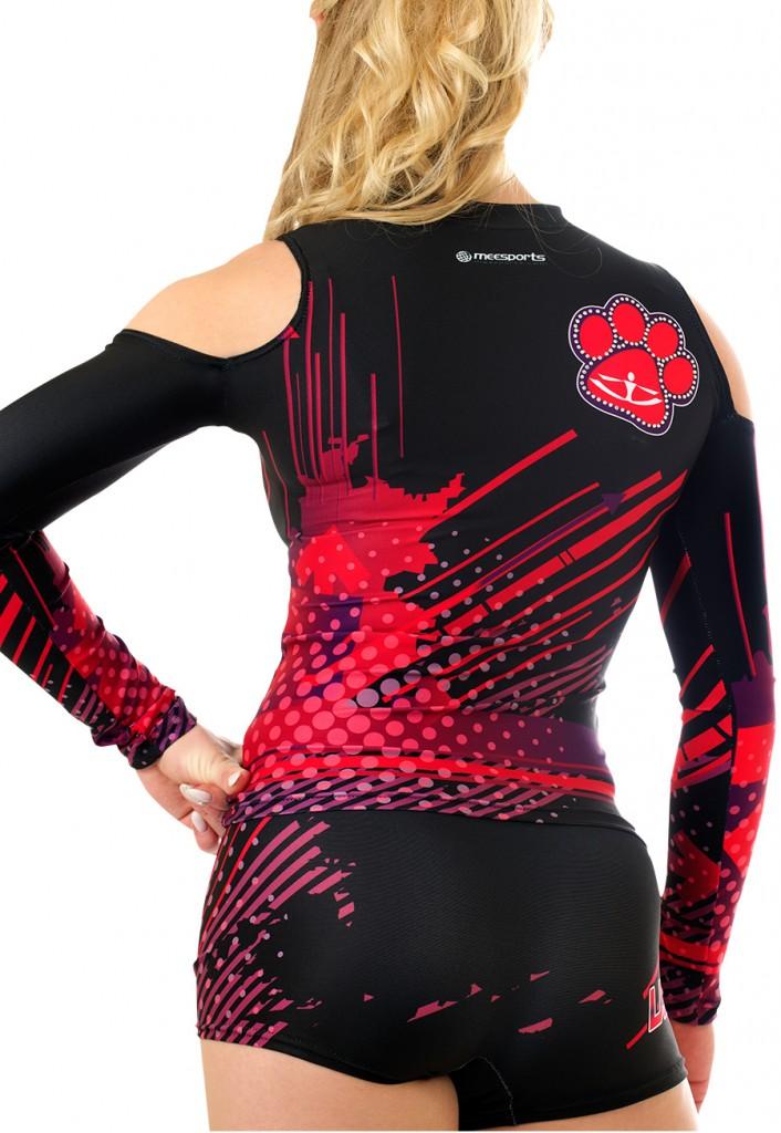 meesports custom cheerleading uniform