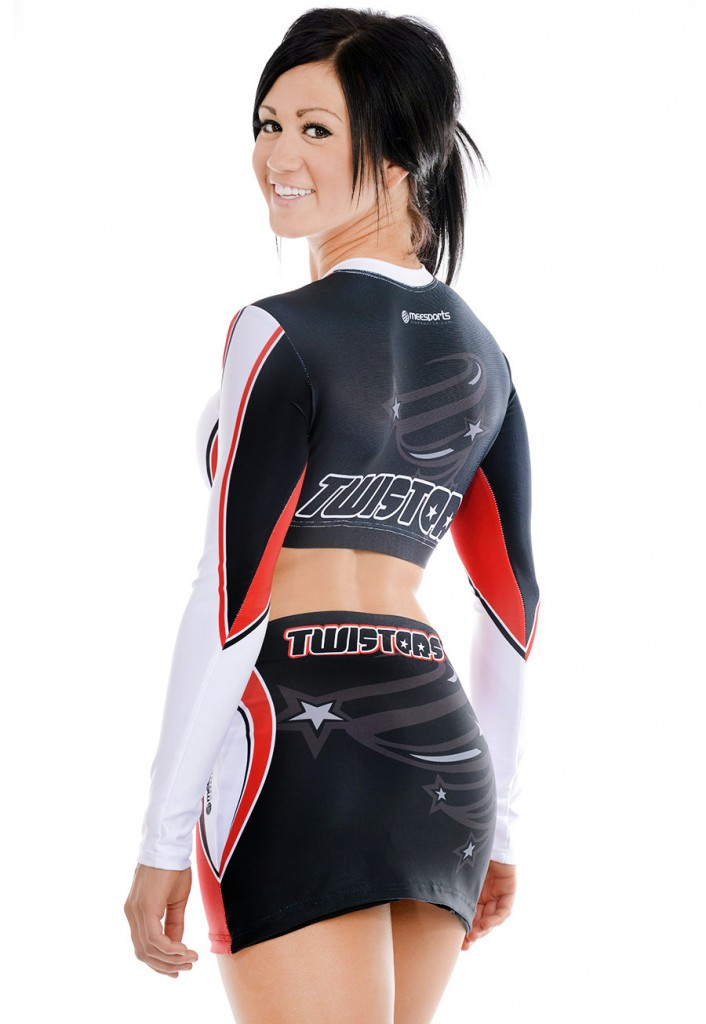 meesports custom cheerleading uniform